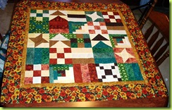 0909 Completed Quilt Sue