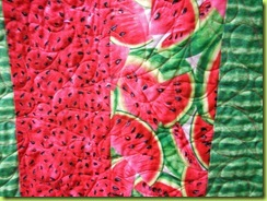 Melinda Quilts etc: UFO Finished–Watermelon Quilt : watermelon quilt - Adamdwight.com