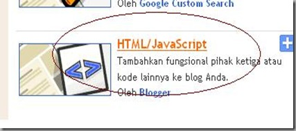 membuat floating text blogger