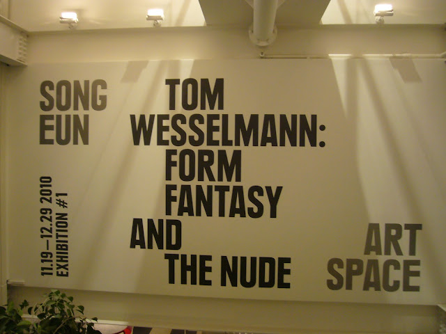 Tom Wesselmann_Exhibition in Korea