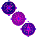Crazy Clock Purple Time Piece icon
