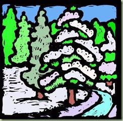Snow Trees 162