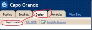 design page element