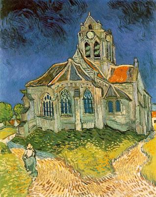 Biserica din Auvers. Vincent van Gogh