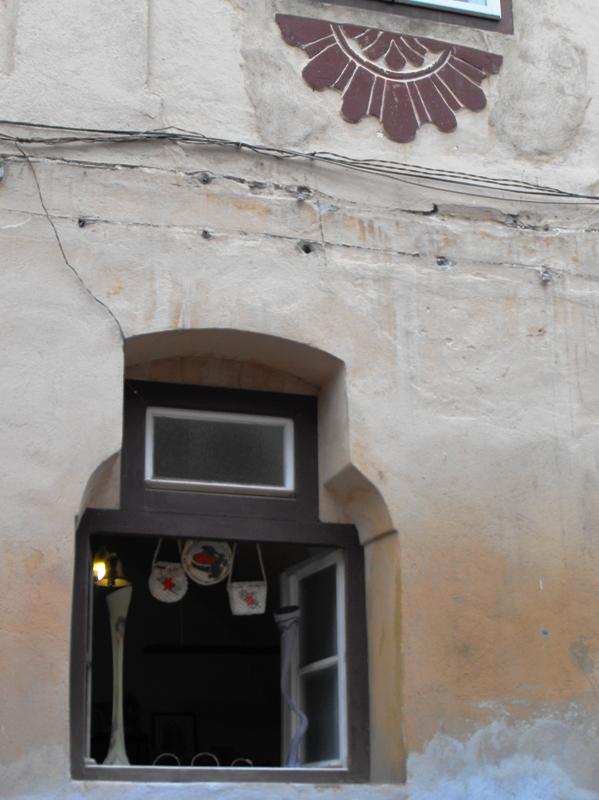 Sighisoara la sfarsit de august. Cetatea Veche. Artizanat