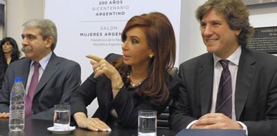 Cristina Fernández, Amado Boudou... y Aníbal Fernández - DiarioPolitica.com