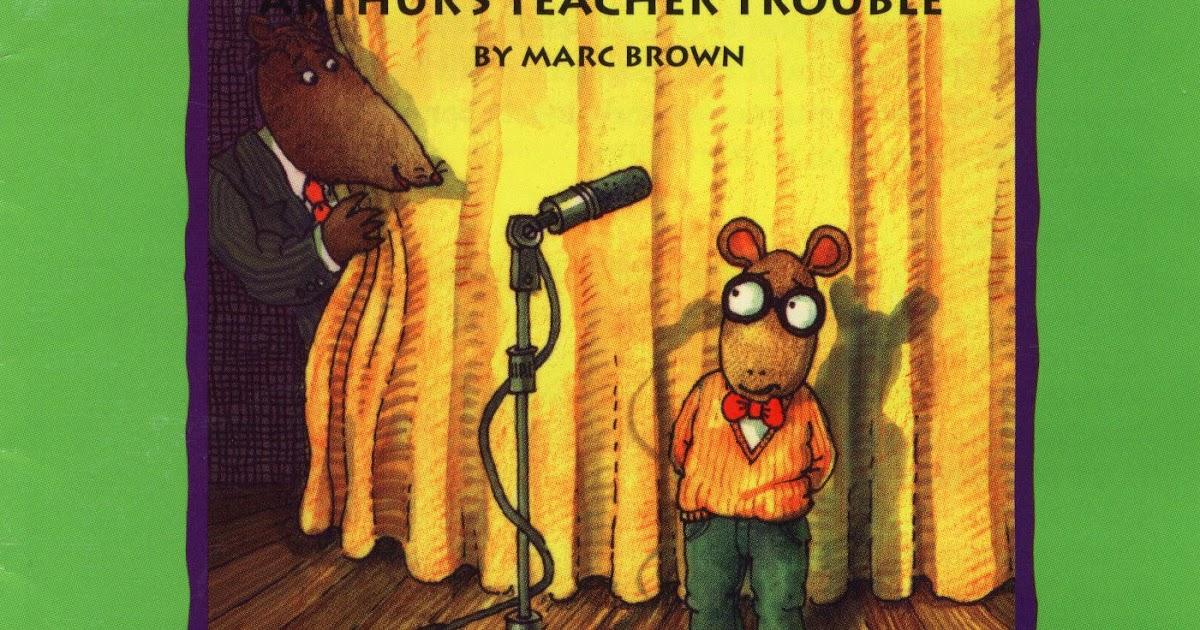 arthurs teacher trouble coloring pages - photo#36