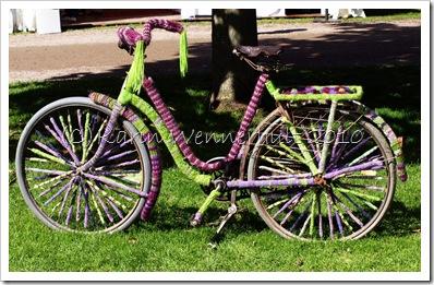 Cykelmstickadestrumpor