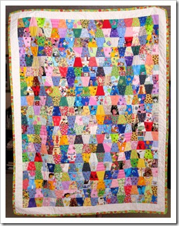 Good wishes quilt 1