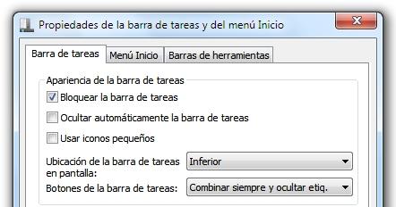 greenshot 2010 02 22 10 26 50 Cómo convertir la barra de tareas de Windows 7 en la de XP