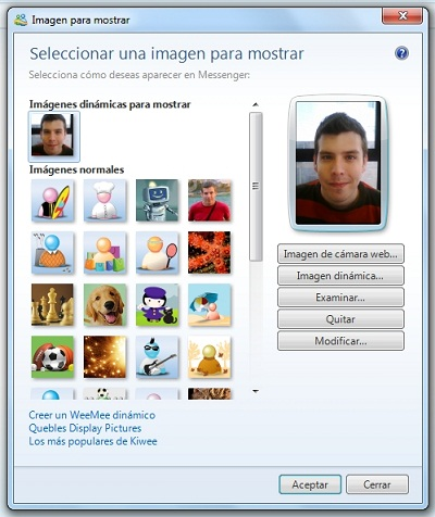 greenshot 2010 03 18 10 26 57 Cambia tu avatar de Messenger según tu estado de ánimo