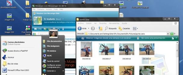 2lc0mcn Los temas de Vista para XP más descargados