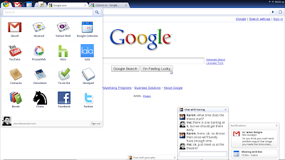 sdres 0001 App Menu Google facilita los primeros datos sobre Chrome OS