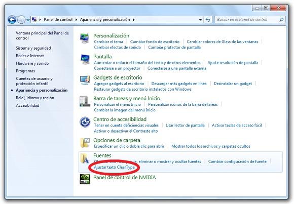 greenshot 2009 12 02 13 59 44 Mejora el aspecto de las fuentes de texto en Windows 7