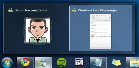 1 Cómo evitar que Windows Live Messenger muestre dos iconos en Windows 7