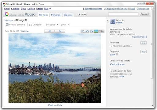 greenshot 2010 07 15 10 23 54 Edita tus fotos de Picasa Web Albums con Picnik
