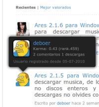 Pantallazo2 Uptodown añade un ranking de usuarios según su actividad en la web
