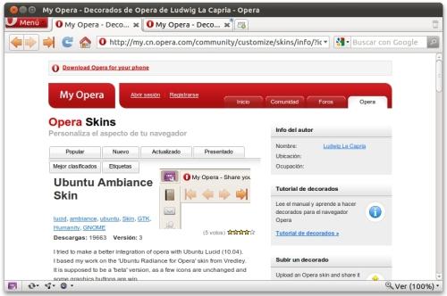 screenshot2 Haz que tus navegadores vistan la misma piel que Ubuntu