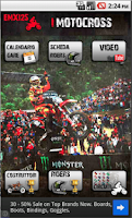 Screenshot of Motocross EMX125