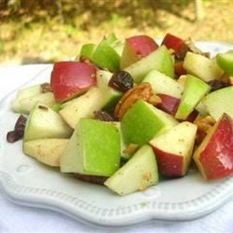 Waldorf Salad with Walnut Oil Vinaigrette