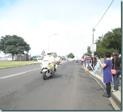 Prince William motorcade