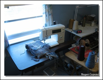 waiating for sewing machine