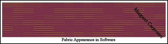 Fabric appearance in software blpog
