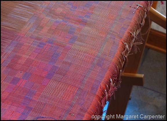 Test weaving left side