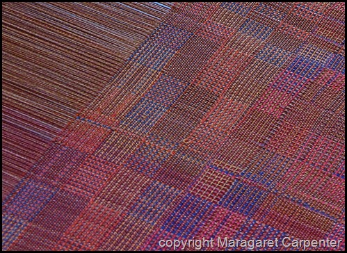 Test weaving and threading error