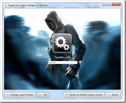 Mengganti Tampilan Logon Screen Windows 7