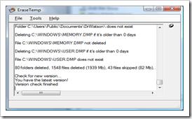 EraseTemp - Menghapus File Temp