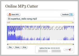 Aplikasi Online Untuk Memotong File Mp3