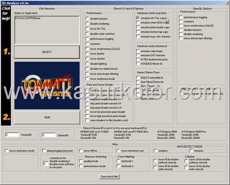 Meningkatkan Kinerja VGA Card Dengan 3D Analyze