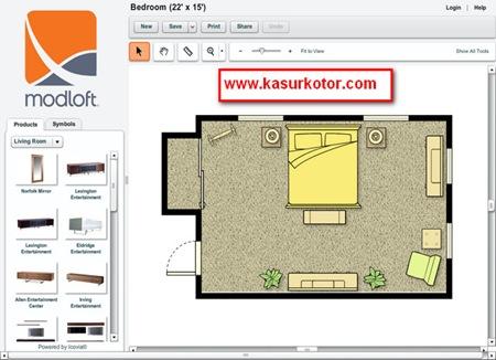 Membuat Desain Ruang Rumah Secara Online