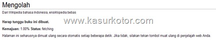 Proses wikipedia eBook
