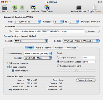Handbrake - Open Source DVD Ripper untuk Linux, Mac dan Windows