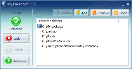 Melindungi Folder Dengan Password - My Lockbox