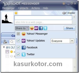 Yahoo Messenger 11 Beta Hubungkan dengan Facebook, Twitter dan Yahoo! Pulse