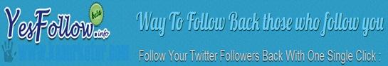 Follow Otomatis Orang yang Follow Anda di Twitter
