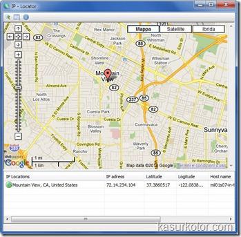 Mencari Informasi Lokasi IP Dengan IP Locator