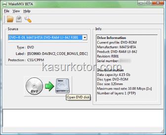 Cara Mengkonversi/Convert film Blu-Ray DVD ke MKV File