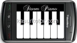 Software untuk Bermain Piano di Blackberry Storm