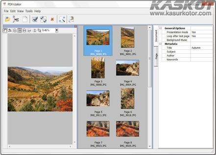 Membuat Presentasi PDF dengan PDFrizator + Fitur Latar Belakang Musik