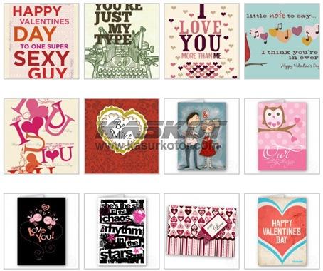 55 Contoh Kartu Ucapan Hari Valentine