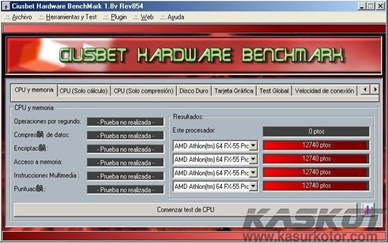 Software Benchmark Gratis: Ciusbet Hardware BenchMark