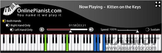 Belajar/Les Piano Online Gratis