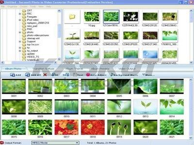 Membuat video dan Slideshow dari Foto dan Gambar Anda
