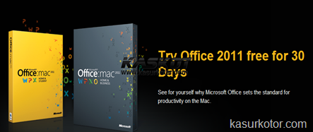 Download Microsoft Office 2011 untuk Mac, Trial Version 30-Hari Gratis