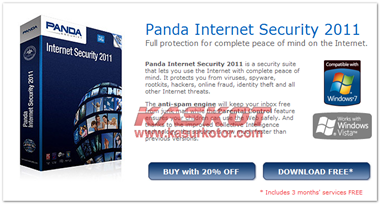 Panda Internet Security 2011 dan Antivirus Pro 2011 Gratis 3 Bulan
