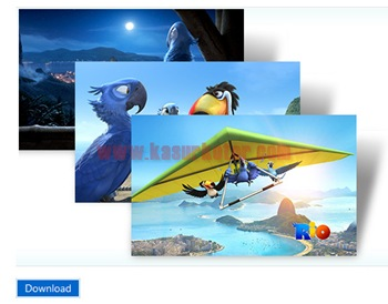 Download Theme Film Animasi Rio untuk Windows 7